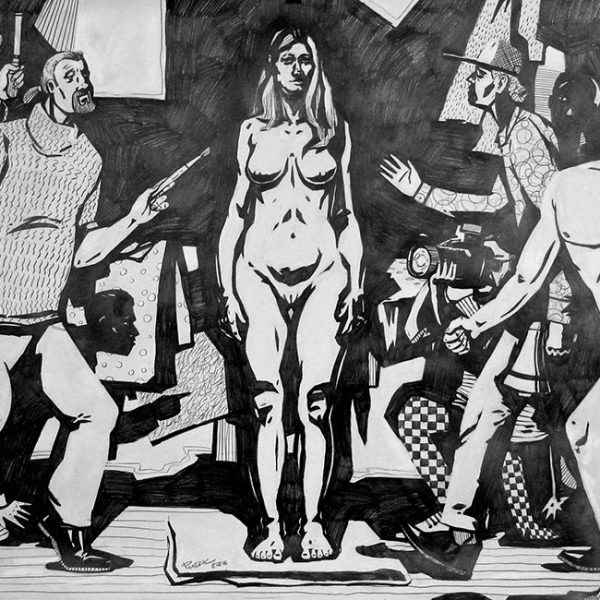 Drawing. Epic by Nikolay Rybak. Original Art for Sale.