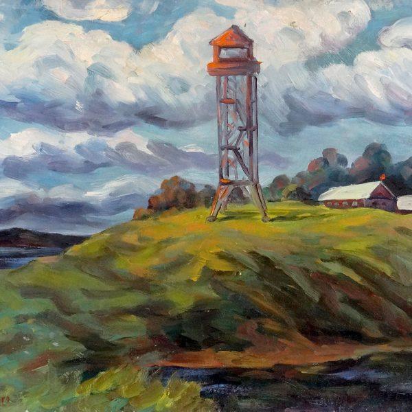 Untitled (Lighthouse) by Vasily Shvedko 1980